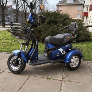 Elektrinis triratis motoroleris Lidia, 650W, 20Ah
